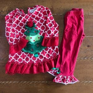 Emily rose Christmas outfit